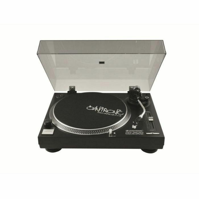 OMNITRONIC - Omnitronic DD2520 Direct Drive USB DJ Turntables (black) (pair)