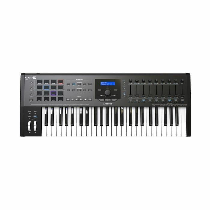 ARTURIA - Arturia Keylab MkII 49 Key USB MIDI Controller Keyboard (black) ***ART OF KEYS PROMO - INCLUDES FREE SOFTWARE INSTRUMENTS***