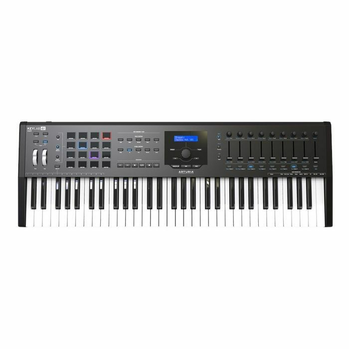ARTURIA - Arturia Keylab MkII 61 Key USB MIDI Controller Keyboard (black) ***ART OF KEYS PROMO - INCLUDES FREE SOFTWARE INSTRUMENTS***