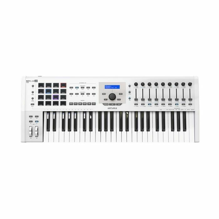 ARTURIA - Arturia Keylab MkII 49 Key USB MIDI Controller Keyboard (white) ***ART OF KEYS PROMO - INCLUDES FREE SOFTWARE INSTRUMENTS***