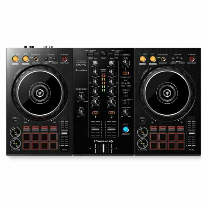 PIONEER - Pioneer DDJ400 Performance DJ Controller With RekordBox DJ Software