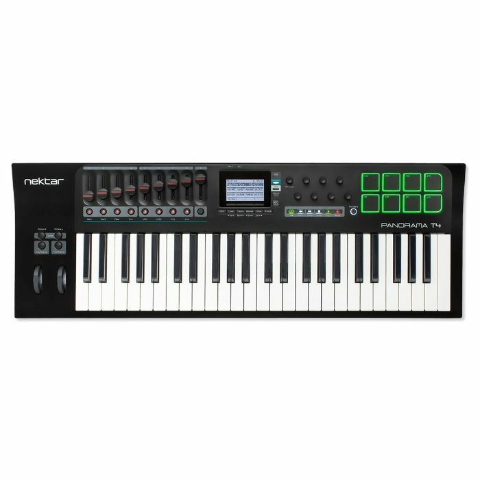 NEKTAR - Nektar Panorama T4 49 Note Advanced USB MIDI DAW Keyboard Controller With Bitwig 8 Track Software