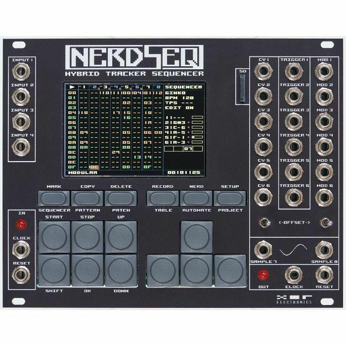XOR ELECTRONICS - XOR Electronics NerdSeq Hybrid Tracker Sequencer Module (black)