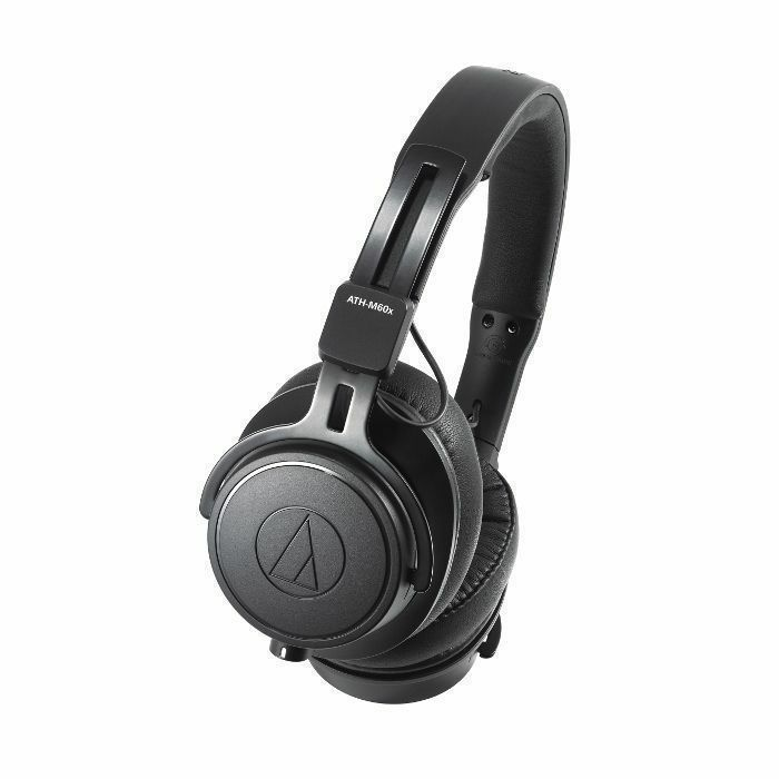 AUDIO TECHNICA - Audio Technica ATH M60X Closed Back Studio Monitor Headphones