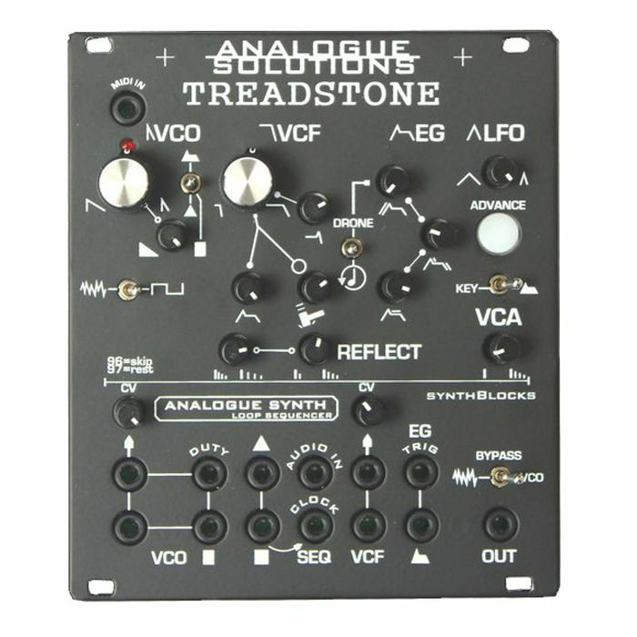 ANALOGUE SOLUTIONS - Analogue Solutions Treadstone Analogue Synth Voice Module