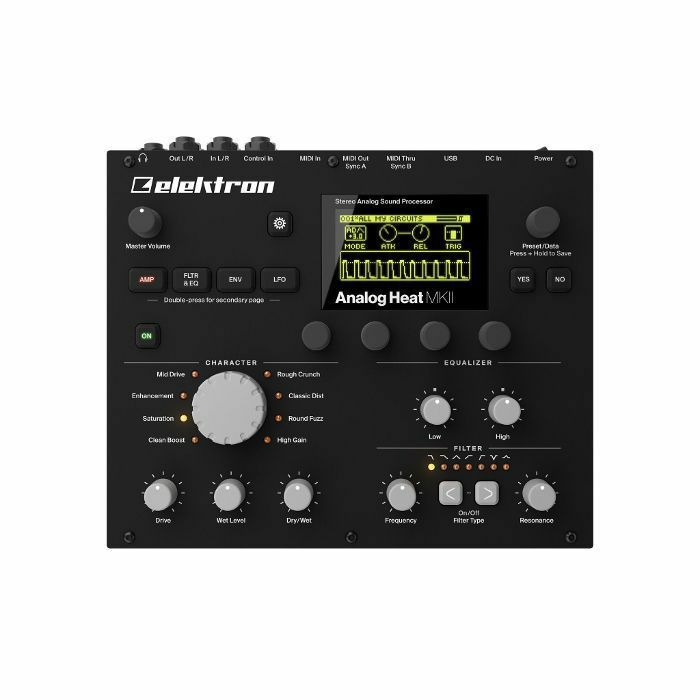 ELEKTRON - Elektron Analog Heat MKII Stereo Analogue Sound Processor