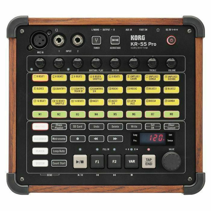 KORG - Korg KR55 Pro Rhythm Drum Machine (B-STOCK)