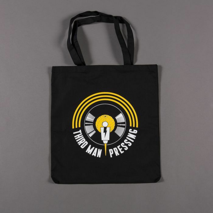 THIRD MAN - Third Man Pressing Vinyl Record Tote Bag