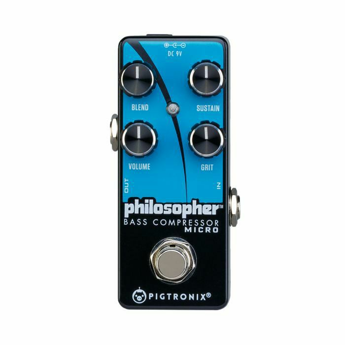 PIGTRONIX - Pigtronix Philosopher Bass Compressor Micro Pedal (B-STOCK)