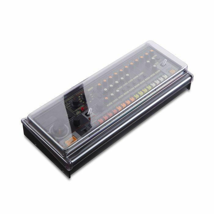 DECKSAVER - Decksaver Roland Boutique Cover For D05 / TR08 / SH01A / SE02 / TR09 / TB03 / VP03 / A01 / JP08 / JX03 / JU06 (smoked clear)