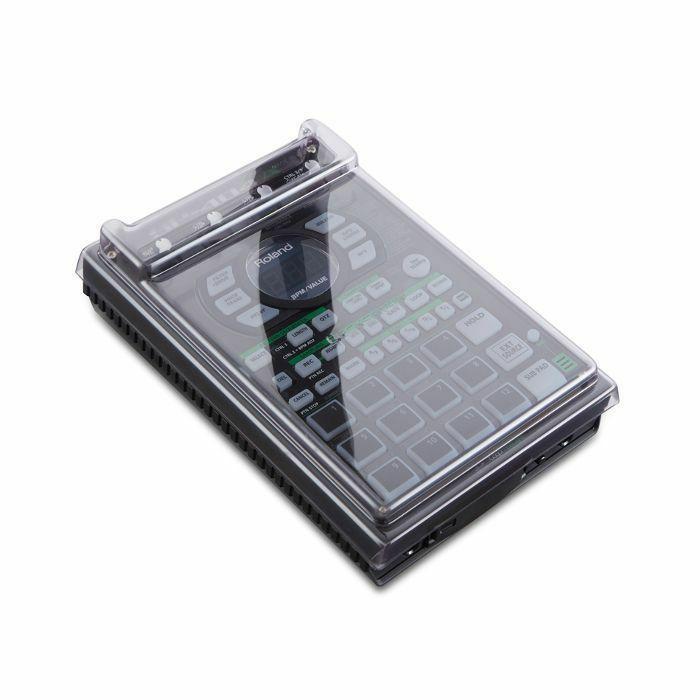 DECKSAVER - Decksaver Roland SP404 Cover For SP404 / SP404A / SP404SX (smoked clear)