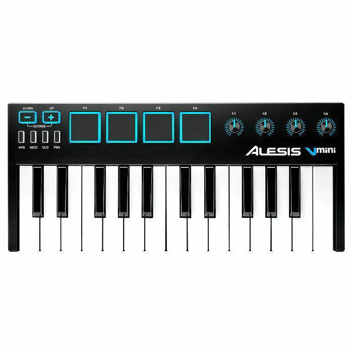 ALESIS - Alesis V Mini Portable 25 Key USB MIDI Controller Keyboard With Xpand!2 Software (B-STOCK)
