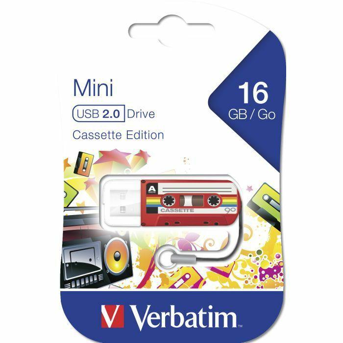 VERBATIM - Verbatim Store'n'Go 32GB USB Flash Drive (red cassette edition)