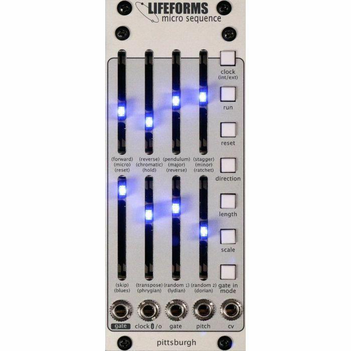PITTSBURGH MODULAR - Pittsburgh Modular Lifeforms Micro Sequence 8 Step Programmable Sequencer Module (B-STOCK)