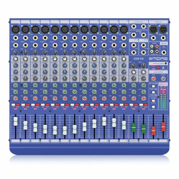 MIDAS - MIDAS DM16 16 Channel Analogue Mixer