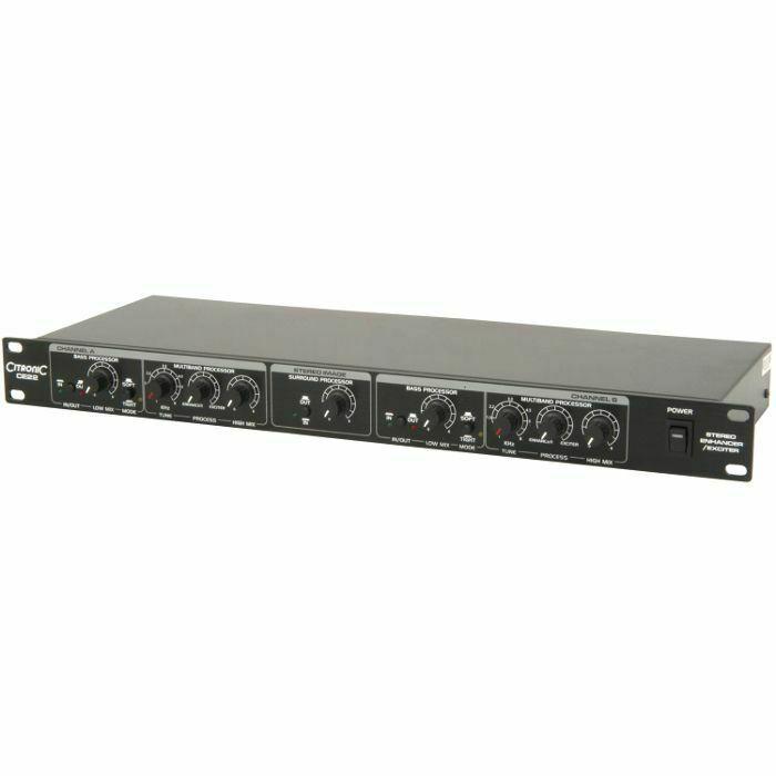 CITRONIC - Citronic CE22 Stereo Enhancer Exciter Rack Unit (B-STOCK)