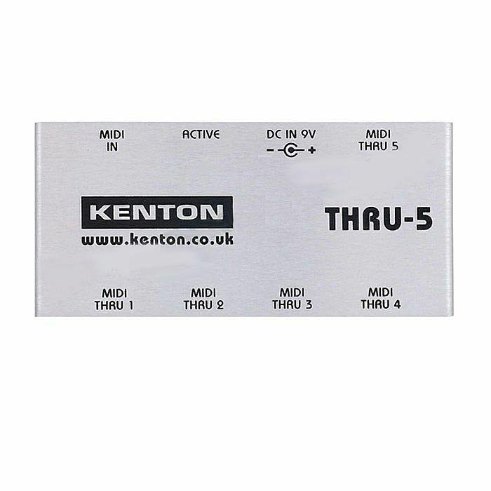 KENTON - Kenton THRU5 MIDI Thru Box *SUPPLIED WITH UK 3-PIN POWER ADAPTER* (B-STOCK)