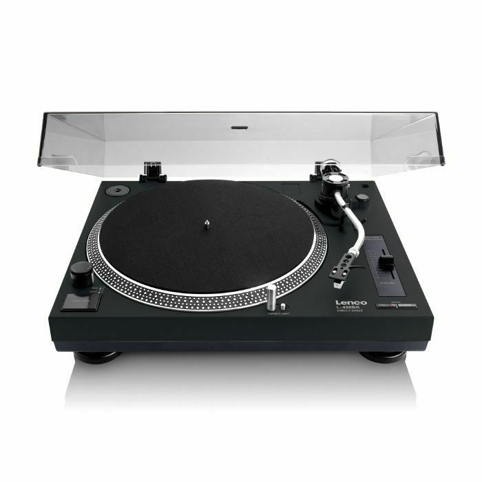 LENCO - Lenco L400 Direct Drive USB Turntable (black) (B-STOCK)