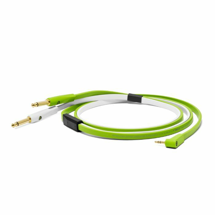 NEO - Neo d+ MYTS Class B 3.5mm Minijack To Stereo 1/4 Inch TS Cable (2.5m)