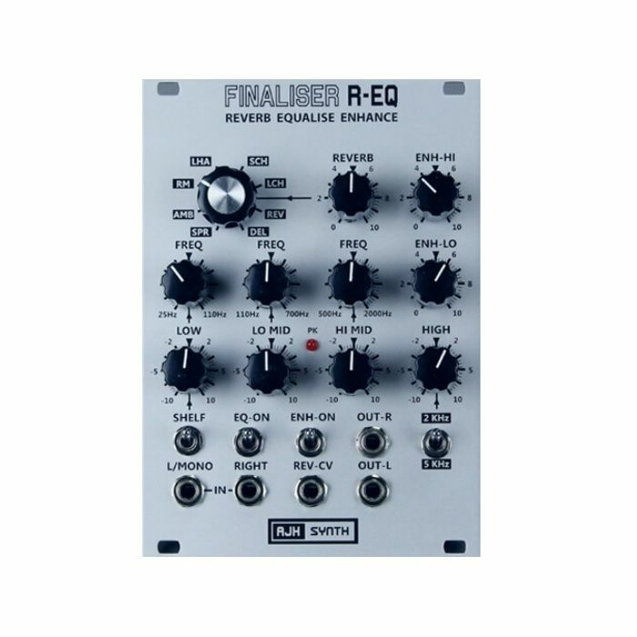 AJH SYNTH - AJH Synth Finaliser REQ Reverb Equalise Enhance Module (silver)