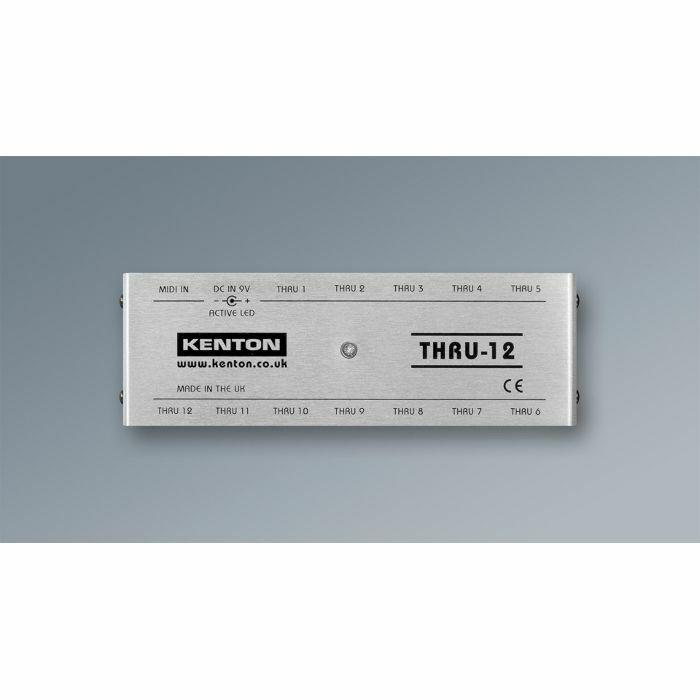 KENTON - Kenton THRU12 MIDI Thru Box *SUPPLIED WITH UK 3-PIN POWER ADAPTER*