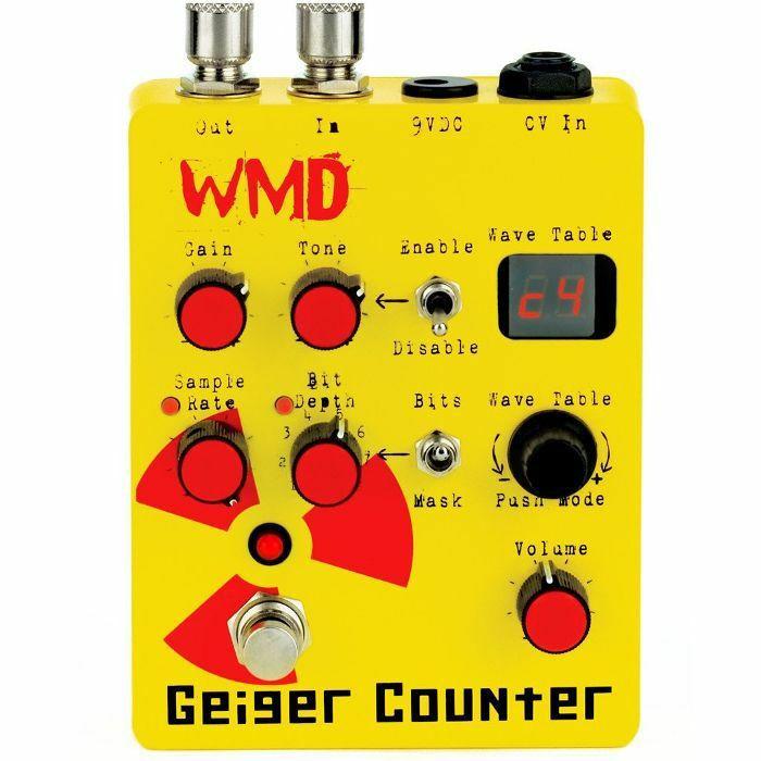 WMD - WMD Geiger Counter Distortion Pedal
