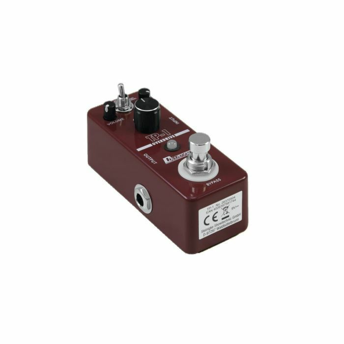 DIMAVERY - DiMavery TP1 Tube Pusher Overdrive Pedal