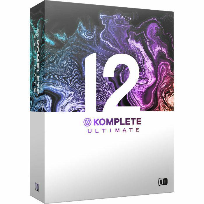 NATIVE INSTRUMENTS - Native Instruments Komplete 12 Ultimate Software