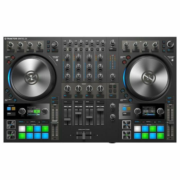 Native Instruments Traktor Kontrol S4 Mk3 DJ Controller With Traktor Pro 3  Software