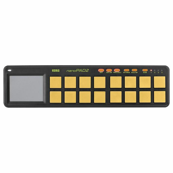 KORG - Korg NanoPad 2 USB MIDI Controller (orange & green)