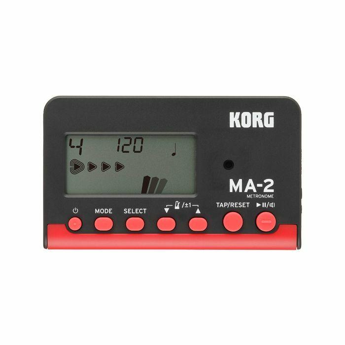 KORG - Korg MA2 LCD Pocket Digital Metronome (black & red)