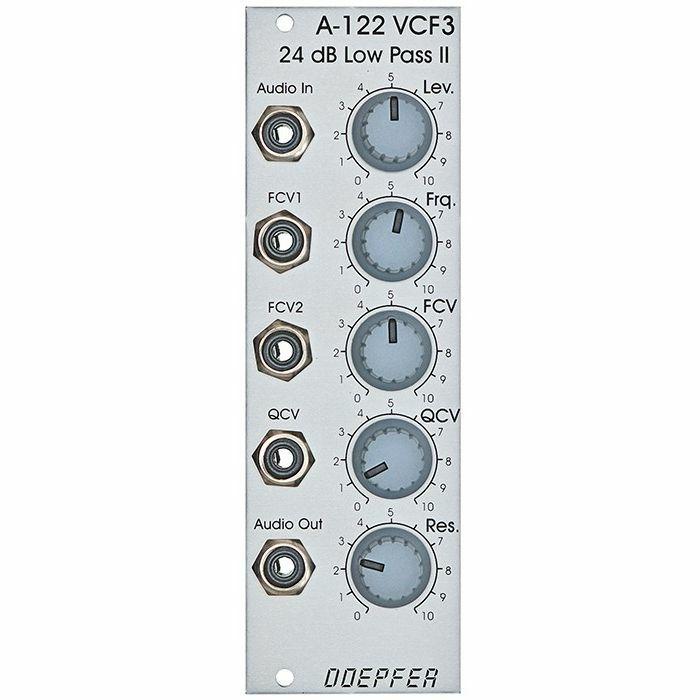 DOEPFER - Doepfer A-122 VCF3 24dB Low Pass II Filter Module