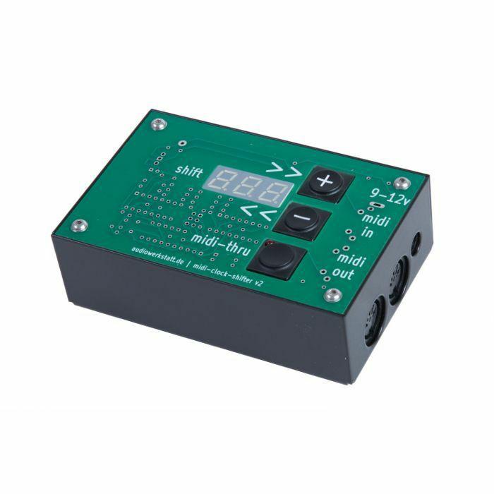 AUDIOWERKSTATT - Audiowerkstatt MIDI Clock Shifter v2