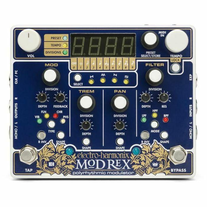 ELECTRO HARMONIX - Electro Harmonix Mod Rex Polyrhythmic Modulator Pedal
