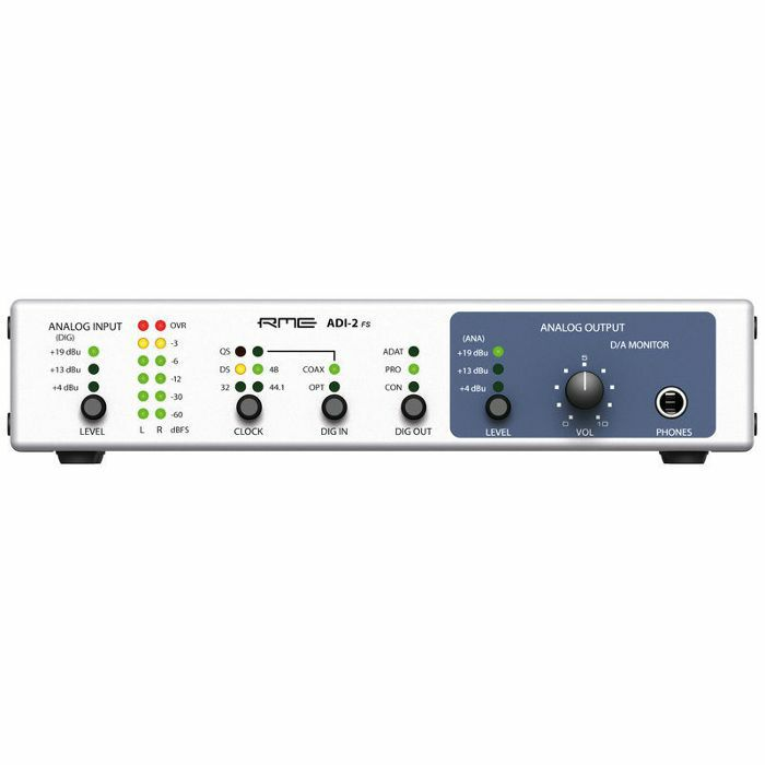 RME - RME ADI2 FS 2 Channel AD/DA & Format Converter Interface