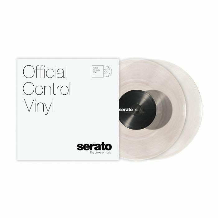 SERATO - Serato Standard Colours 10 Inch Control Vinyl (clear, pair)