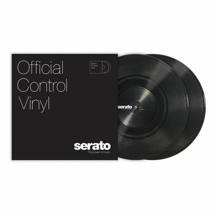 SERATO - Serato Standard Colours 10 Inch Control Vinyl (black, pair)