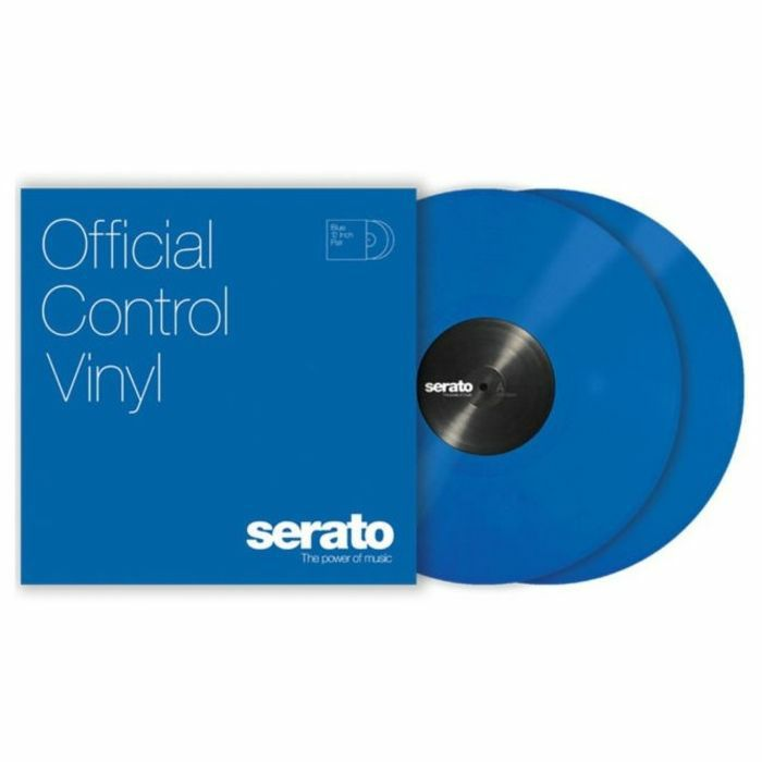 SERATO - Serato Standard Colours 10 Inch Control Vinyl (blue, pair)