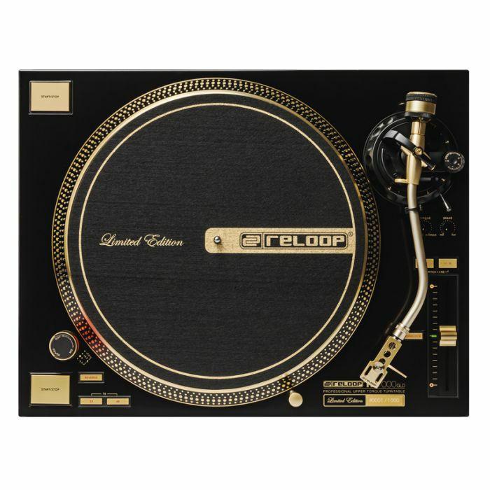 RELOOP - Reloop RP7000 MK2 GLD DJ Turntable (limited edition gold version)