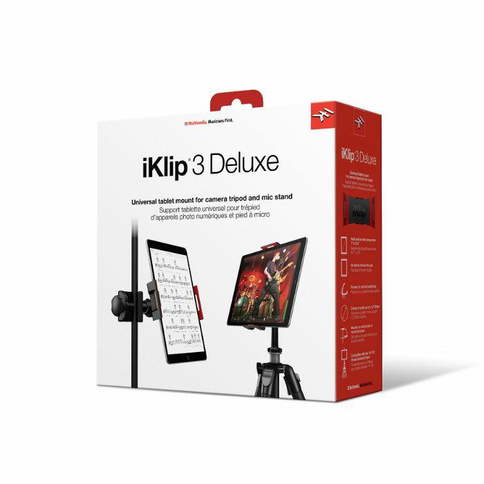 IK MULTIMEDIA - IK Multimedia iKlip 3 Deluxe Universal Mount For Tablets