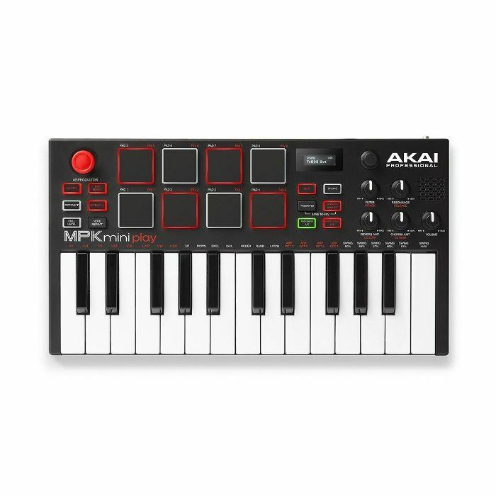 AKAI - Akai MPK Mini Play Standalone 25 Note Keyboard & USB MIDI Controller
