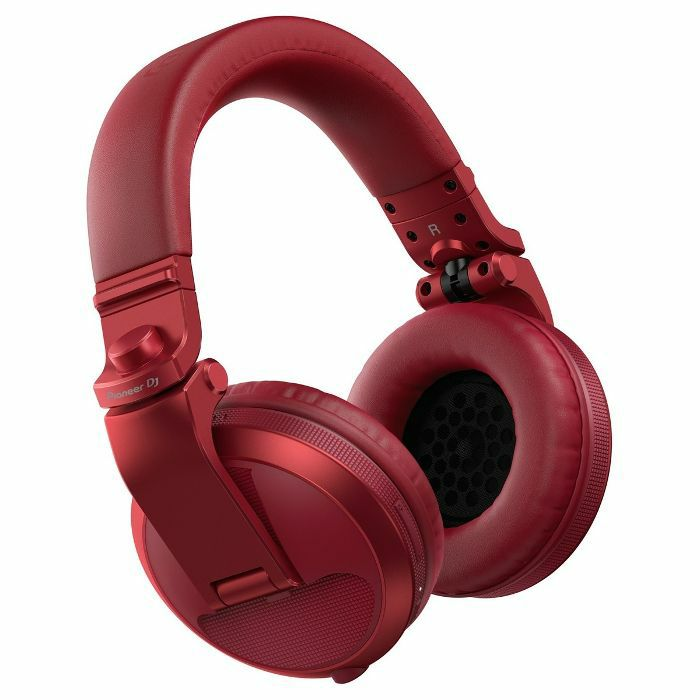 PIONEER - Pioneer HDJ X5BT Bluetooth DJ Headphones (metallic red)