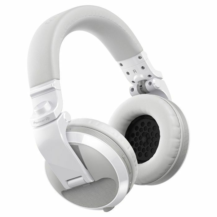 PIONEER - Pioneer HDJ X5BT Bluetooth DJ Headphones (gloss white)