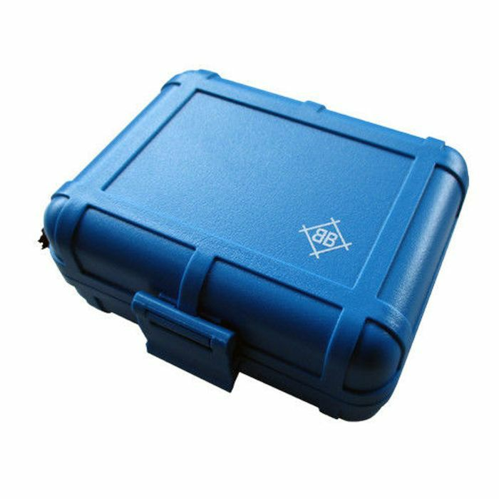 STOKYO - Stokyo Black Box DJ Turntable Cartridge Case (blue edition)