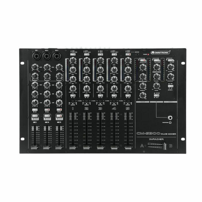 OMNITRONIC - Omnitronic CM5300 5 Channel Club DJ Mixer