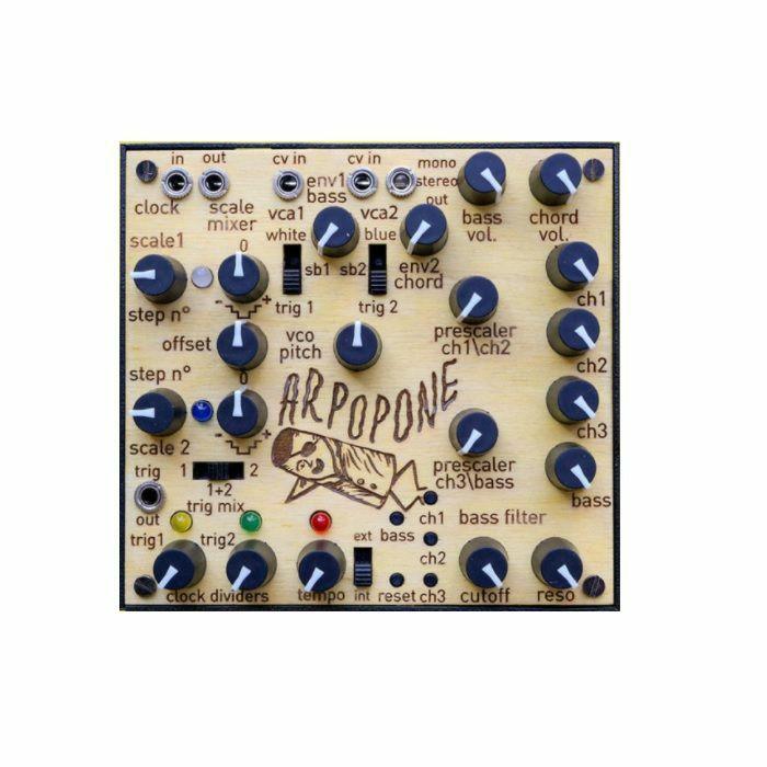 LEP - LEP Arpopone Analogue Melody & Bass Line Generator Module