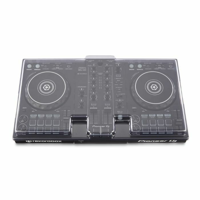DECKSAVER - Decksaver LE Pioneer DDJ400 DJ Controller Cover (smoked clear, light edition)