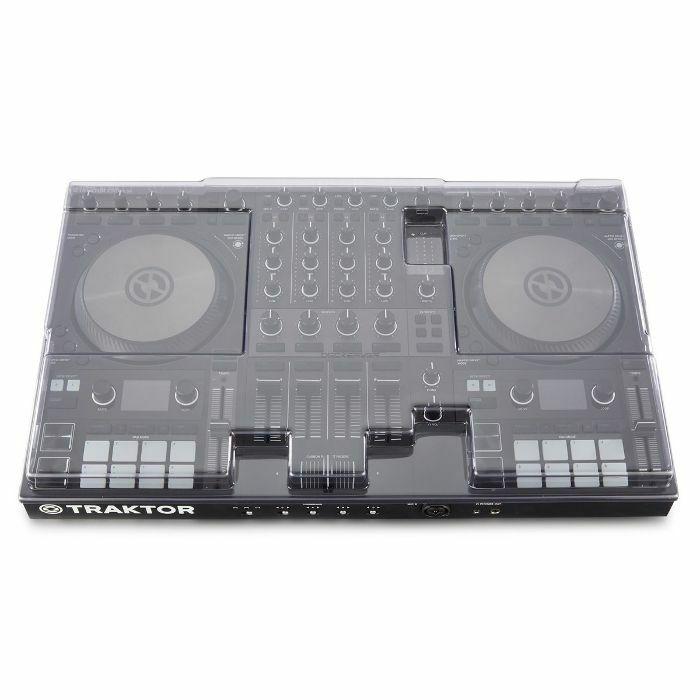 DECKSAVER - Decksaver Native Instruments Kontrol S4 MK3 DJ Controller Cover (smoked clear)