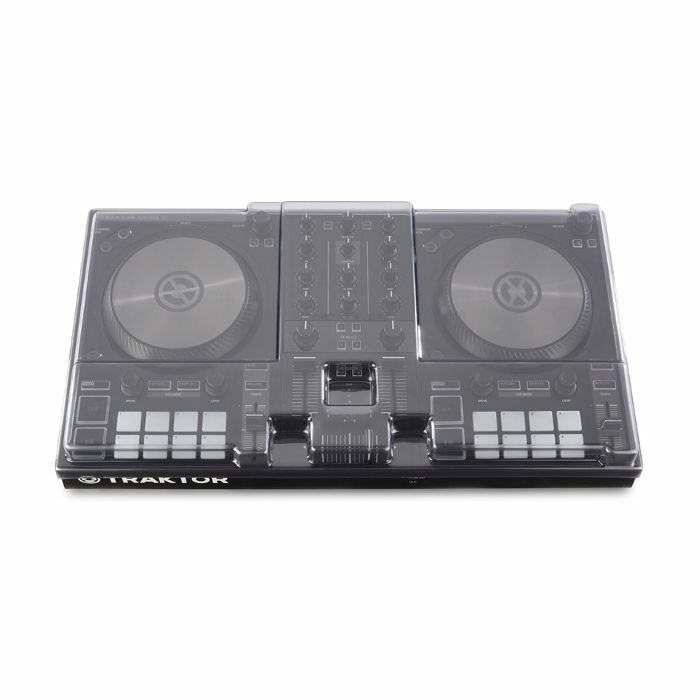 DECKSAVER - Decksaver Native Instruments Kontrol S2 MK3 DJ Controller Light Edition Cover (smoked clear, light edition)