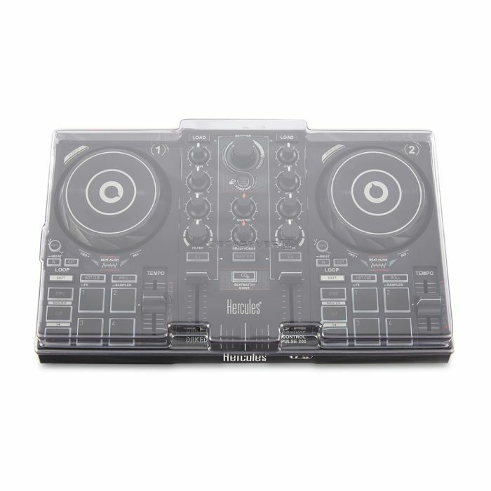 DECKSAVER - Decksaver LE Hercules DJ Control Inpulse 200 Cover (smoked clear, light edition)